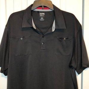 Adidas Clima Cool Black golf shirt size XL